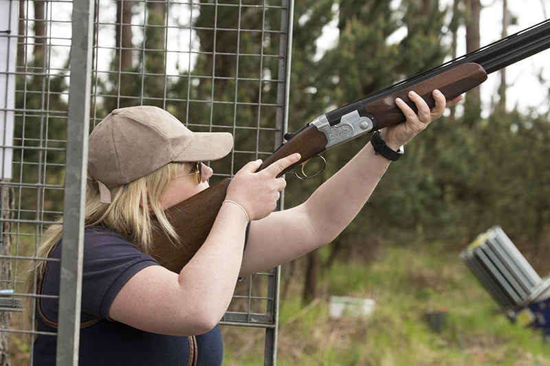 clay pigeon shooting hen party