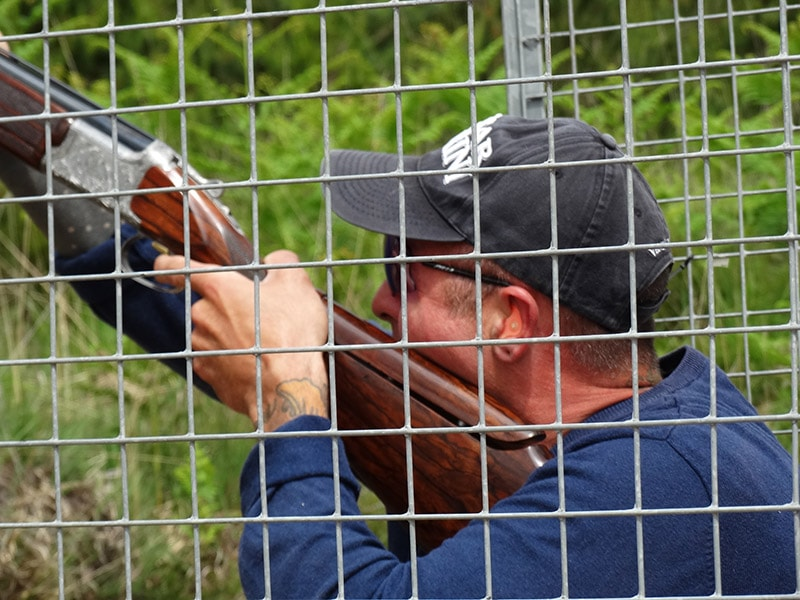 clay pigeon shooting wimborne
