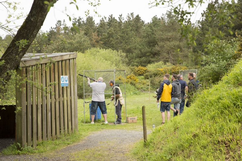 clay pigeon shooting southampton