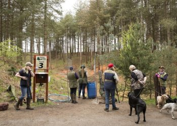 clay pigeon shooting dorset