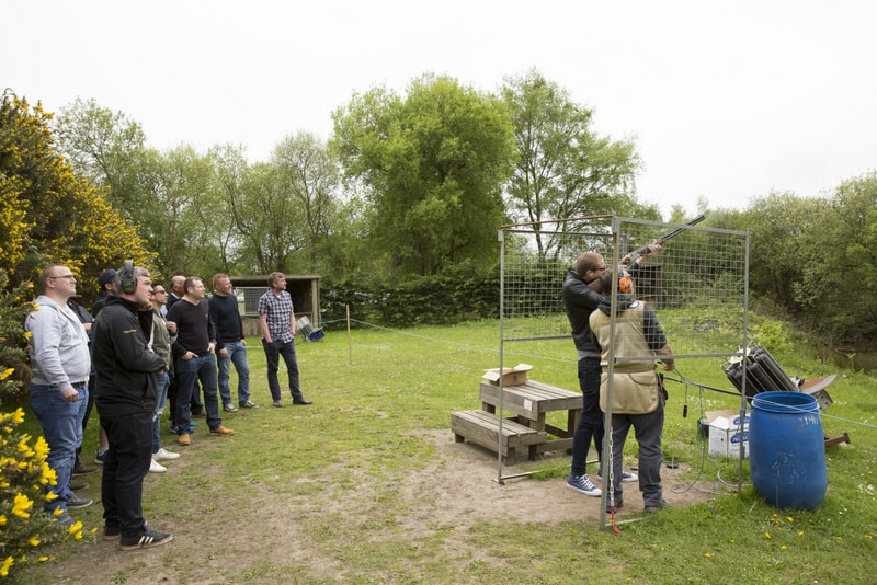 clay pigeon shooting weekends