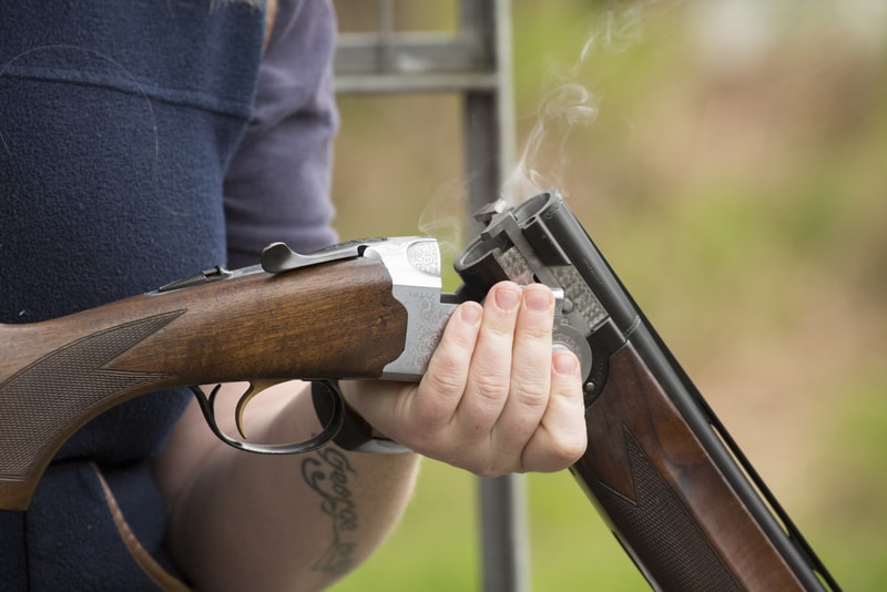 clay pigeon shooting hampshire
