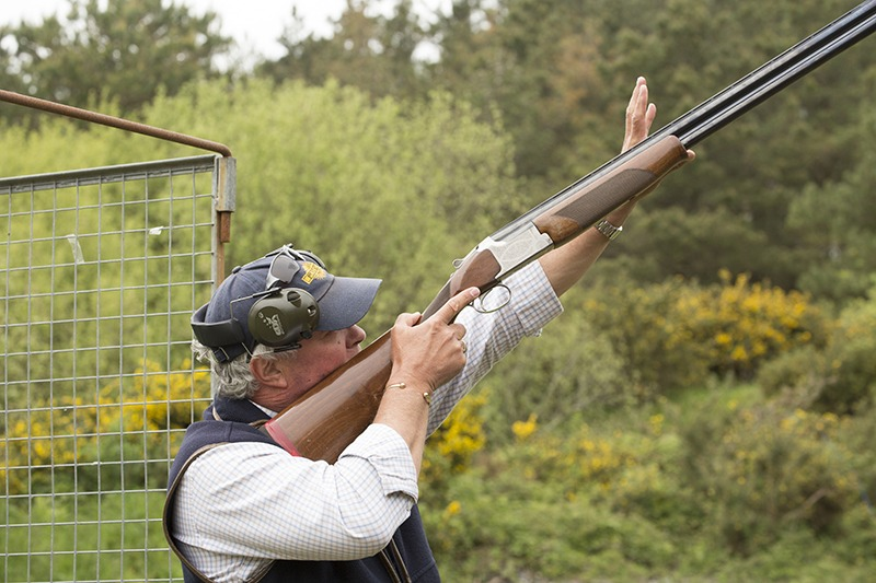 clay pigeon shooting stag do