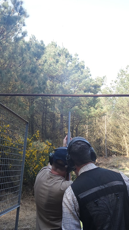 corporate clay pigeon shooting dorset