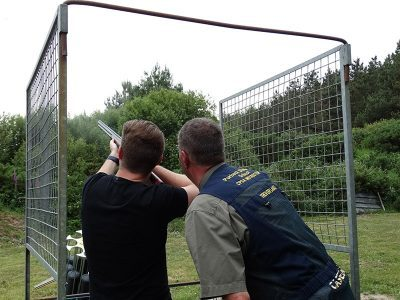 clay pigeon shooting Poole